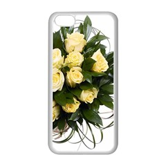 Bouquet Flowers Roses Decoration Apple iPhone 5C Seamless Case (White)