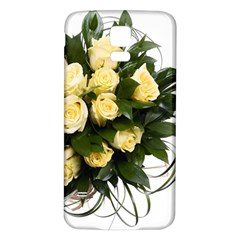 Bouquet Flowers Roses Decoration Samsung Galaxy S5 Back Case (white)