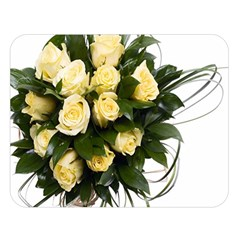 Bouquet Flowers Roses Decoration Double Sided Flano Blanket (large)