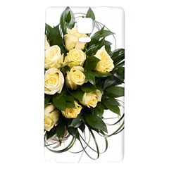 Bouquet Flowers Roses Decoration Galaxy Note 4 Back Case