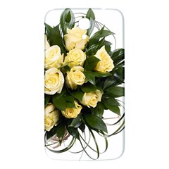 Bouquet Flowers Roses Decoration Samsung Galaxy Mega I9200 Hardshell Back Case