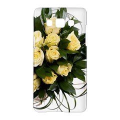 Bouquet Flowers Roses Decoration Samsung Galaxy A5 Hardshell Case