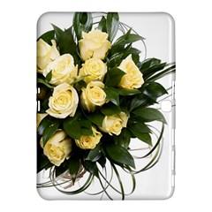 Bouquet Flowers Roses Decoration Samsung Galaxy Tab 4 (10 1 ) Hardshell Case