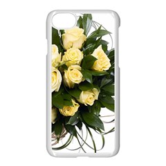 Bouquet Flowers Roses Decoration Apple Iphone 7 Seamless Case (white)