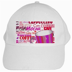 Coffee Cup Lettering Coffee Cup White Cap