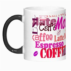 Coffee Cup Lettering Coffee Cup Morph Mugs