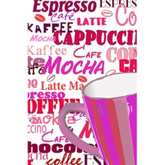 Coffee Cup Lettering Coffee Cup 5.5  x 8.5  Notebooks