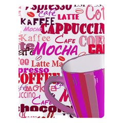Coffee Cup Lettering Coffee Cup Apple Ipad 3/4 Hardshell Case