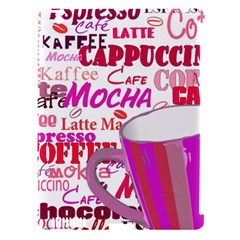 Coffee Cup Lettering Coffee Cup Apple Ipad 3/4 Hardshell Case (compatible With Smart Cover)