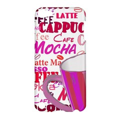 Coffee Cup Lettering Coffee Cup Apple Ipod Touch 5 Hardshell Case
