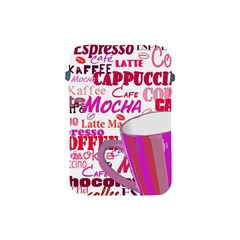 Coffee Cup Lettering Coffee Cup Apple Ipad Mini Protective Soft Cases