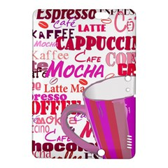 Coffee Cup Lettering Coffee Cup Kindle Fire Hdx 8 9  Hardshell Case