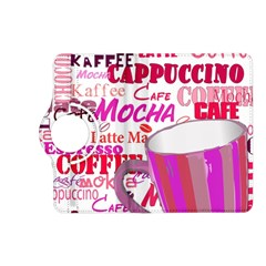 Coffee Cup Lettering Coffee Cup Kindle Fire Hd (2013) Flip 360 Case