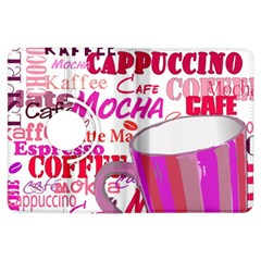 Coffee Cup Lettering Coffee Cup Kindle Fire Hdx Flip 360 Case
