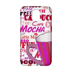 Coffee Cup Lettering Coffee Cup Samsung Galaxy S5 Hardshell Case