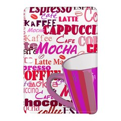 Coffee Cup Lettering Coffee Cup Samsung Galaxy Tab Pro 10 1 Hardshell Case