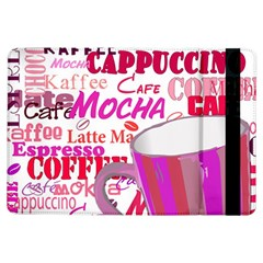 Coffee Cup Lettering Coffee Cup Ipad Air Flip