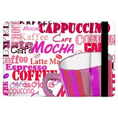 Coffee Cup Lettering Coffee Cup Ipad Air 2 Flip