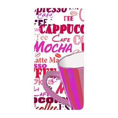 Coffee Cup Lettering Coffee Cup Samsung Galaxy Alpha Hardshell Back Case
