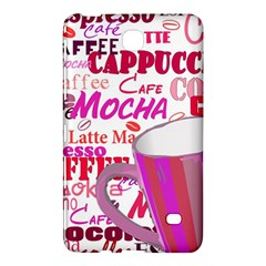 Coffee Cup Lettering Coffee Cup Samsung Galaxy Tab 4 (8 ) Hardshell Case