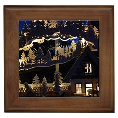 Christmas Advent Candle Arches Framed Tiles