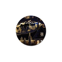 Christmas Advent Candle Arches Golf Ball Marker (10 Pack)