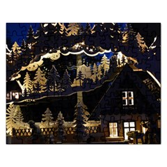Christmas Advent Candle Arches Rectangular Jigsaw Puzzl