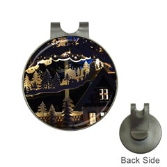 Christmas Advent Candle Arches Hat Clips With Golf Markers