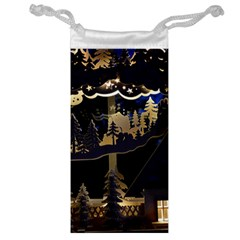 Christmas Advent Candle Arches Jewelry Bag