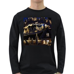Christmas Advent Candle Arches Long Sleeve Dark T Shirts