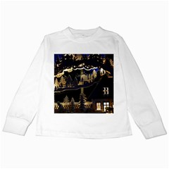 Christmas Advent Candle Arches Kids Long Sleeve T Shirts