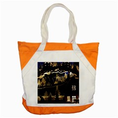 Christmas Advent Candle Arches Accent Tote Bag