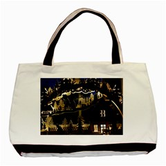 Christmas Advent Candle Arches Basic Tote Bag (two Sides)