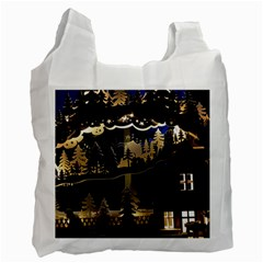 Christmas Advent Candle Arches Recycle Bag (one Side)