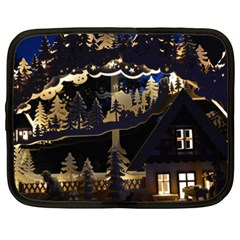 Christmas Advent Candle Arches Netbook Case (xxl)