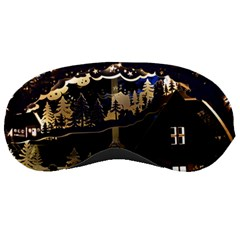 Christmas Advent Candle Arches Sleeping Masks