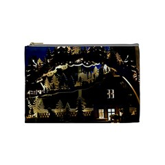 Christmas Advent Candle Arches Cosmetic Bag (medium)