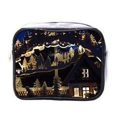 Christmas Advent Candle Arches Mini Toiletries Bags