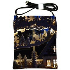 Christmas Advent Candle Arches Shoulder Sling Bags