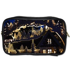 Christmas Advent Candle Arches Toiletries Bags 2 Side