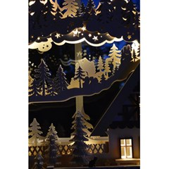 Christmas Advent Candle Arches 5 5  X 8 5  Notebooks