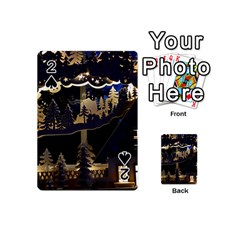 Christmas Advent Candle Arches Playing Cards 54 (mini)