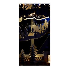 Christmas Advent Candle Arches Shower Curtain 36  X 72  (stall)