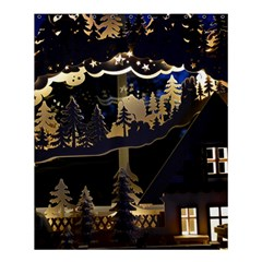 Christmas Advent Candle Arches Shower Curtain 60  X 72  (medium)