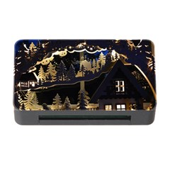Christmas Advent Candle Arches Memory Card Reader With Cf