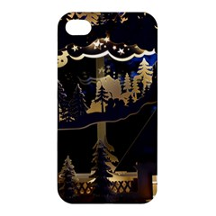 Christmas Advent Candle Arches Apple Iphone 4/4s Hardshell Case
