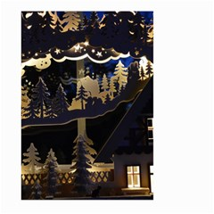 Christmas Advent Candle Arches Large Garden Flag (two Sides)