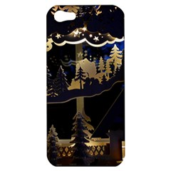 Christmas Advent Candle Arches Apple Iphone 5 Hardshell Case