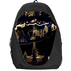 Christmas Advent Candle Arches Backpack Bag