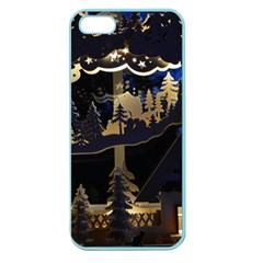 Christmas Advent Candle Arches Apple Seamless Iphone 5 Case (color)